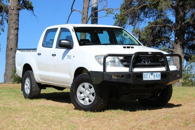 Used Toyota Hilux SR (4x4), Officer, 2009 Toyota Hilux SR (4x4) Dual Cab Pick-up