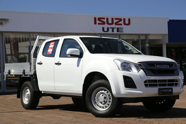 Discounted Demonstrator, Demo, Near New Isuzu D-MAX SX Crew Cab, Southport, 2017 Isuzu D-MAX SX Crew Cab Cab Chassis