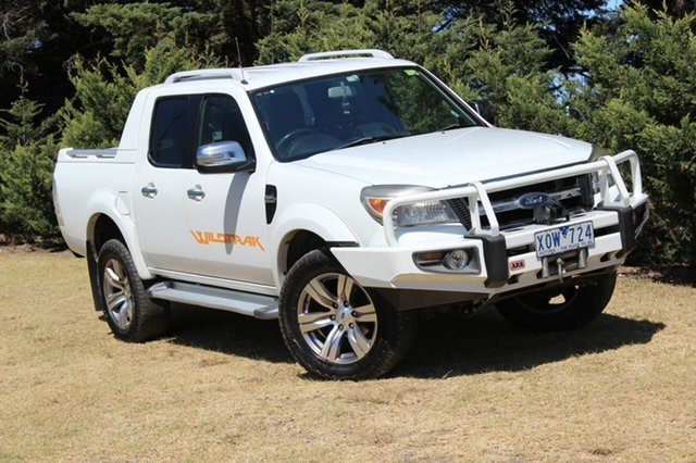 Used Ford Ranger Wildtrak Crew Cab, Officer, 2010 Ford Ranger Wildtrak Crew Cab Utility