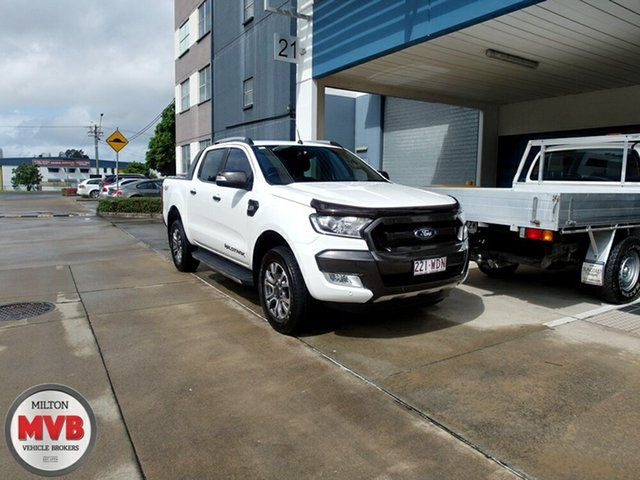 Used Ford Ranger Wildtrak 3.2 (4x4), Eagle Farm, 2015 Ford Ranger Wildtrak 3.2 (4x4) Dual Cab Pick-up