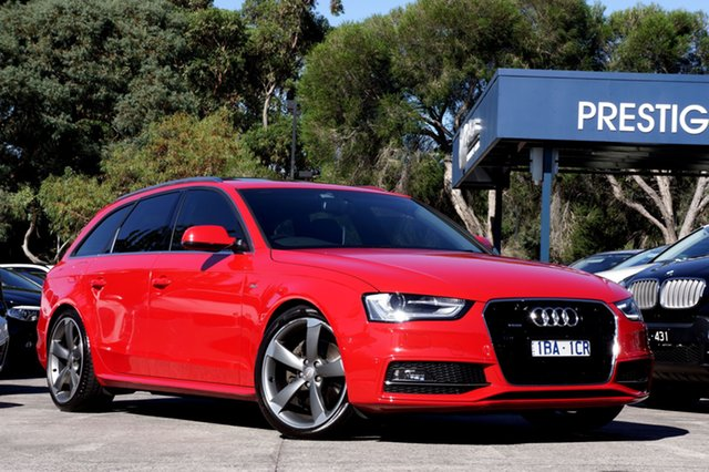 Used Audi A4 S Line Avant S tronic quattro, Balwyn, 2014 Audi A4 S Line Avant S tronic quattro Wagon