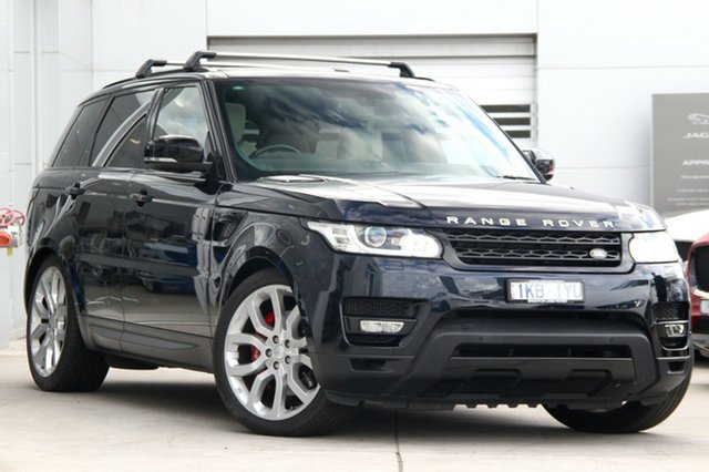 Discounted Used Land Rover Range Rover Sport SDV8 CommandShift HSE Dynamic, Gardenvale, 2014 Land Rover Range Rover Sport SDV8 CommandShift HSE Dynamic Wagon