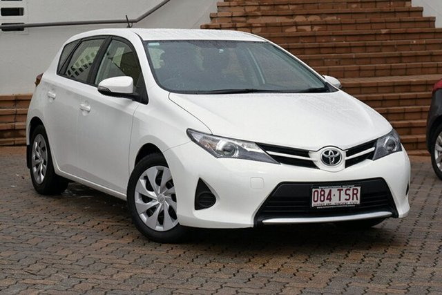 Discounted Used Toyota Corolla Ascent S-CVT, Southport, 2015 Toyota Corolla Ascent S-CVT Hatchback
