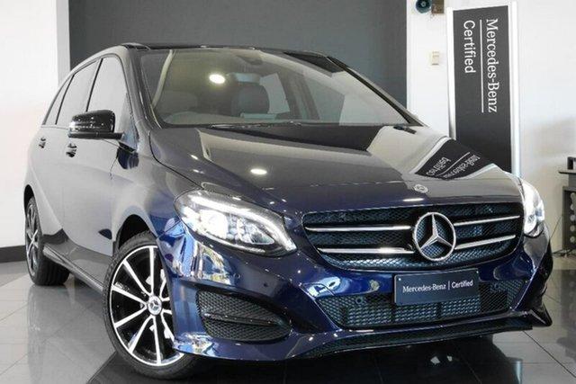 Demonstrator, Demo, Near New Mercedes-Benz B180 DCT, Mosman, 2017 Mercedes-Benz B180 DCT Hatchback