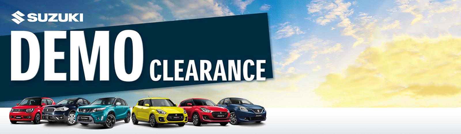 Suzuki Demo Clearance