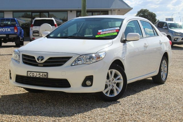 Used Toyota Corolla Ascent Sport, Bathurst, 2013 Toyota Corolla Ascent Sport Sedan