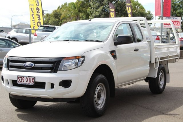 Discounted Used Ford Ranger XL Super Cab 4x2 Hi-Rider, Toowoomba, 2014 Ford Ranger XL Super Cab 4x2 Hi-Rider Cab Chassis