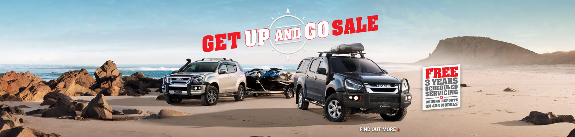 Isuzu - National Offer - Get Up And Go Sale