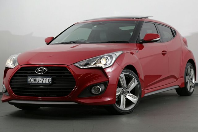 Used Hyundai Veloster SR Coupe Turbo, Narellan, 2014 Hyundai Veloster SR Coupe Turbo Hatchback