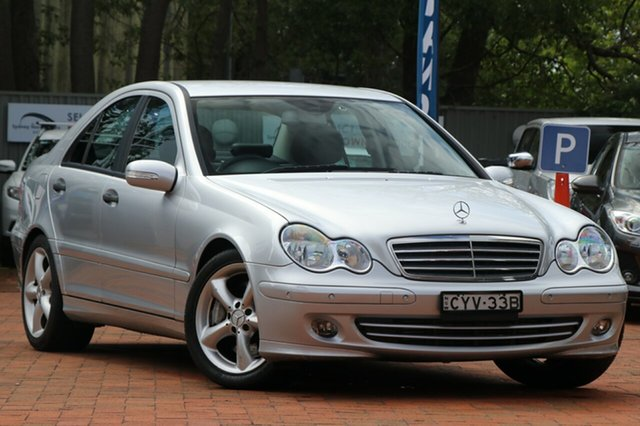 Used Mercedes-Benz C200 Kompressor Classic, Narellan, 2006 Mercedes-Benz C200 Kompressor Classic Sedan