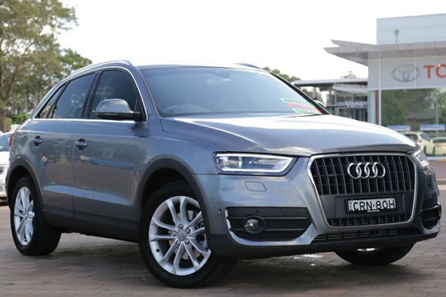 Discounted Used Audi Q3 TFSI S tronic quattro, Warwick Farm, 2013 Audi Q3 TFSI S tronic quattro SUV