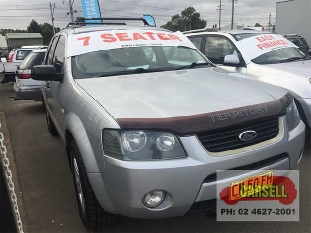 Used Ford Territory, Campbelltown, 2006 Ford Territory Wagon