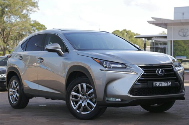 Discounted Used Lexus NX NX300h E-CVT 2WD Luxury, Warwick Farm, 2016 Lexus NX NX300h E-CVT 2WD Luxury SUV