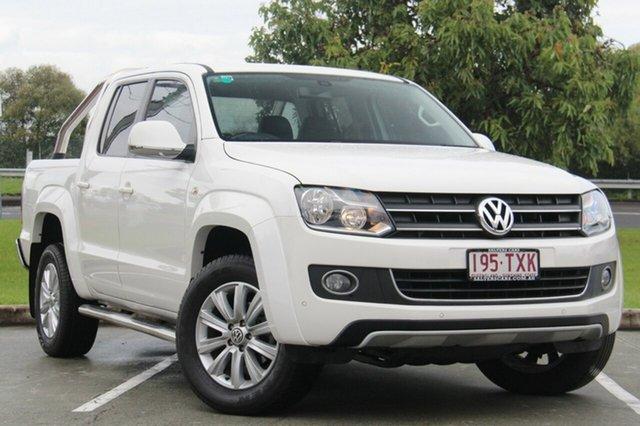 Used Volkswagen Amarok TDI420 4Motion Perm Highline, Moorooka, Brisbane, 2014 Volkswagen Amarok TDI420 4Motion Perm Highline Utility