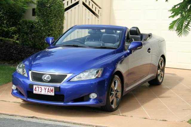 Discounted Used Lexus IS250 C Sports Luxury, Bundall, 2009 Lexus IS250 C Sports Luxury GSE20R MY10 Convertible