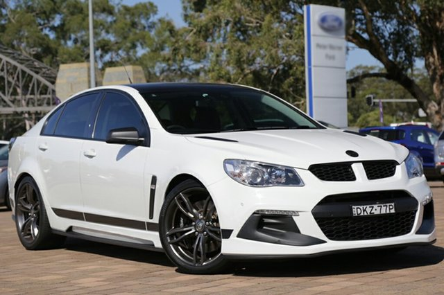 Discounted Used Holden Special Vehicles Clubsport R8 SV Black, Warwick Farm, 2016 Holden Special Vehicles Clubsport R8 SV Black Sedan