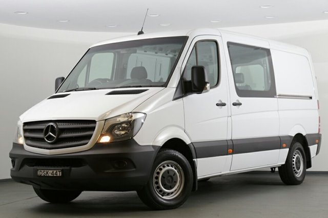 Discounted Demonstrator, Demo, Near New Mercedes-Benz Sprinter 313CDI Low Roof MWB 7G-Tronic, Southport, 2017 Mercedes-Benz Sprinter 313CDI Low Roof MWB 7G-Tronic Van
