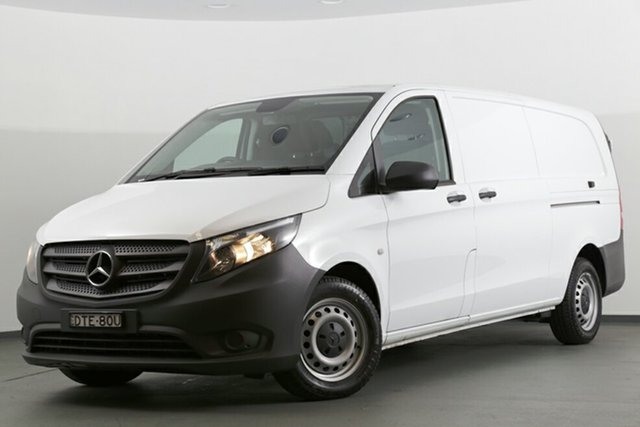 Discounted Demonstrator, Demo, Near New Mercedes-Benz Vito 114BlueTEC LWB 7G-Tronic +, Southport, 2017 Mercedes-Benz Vito 114BlueTEC LWB 7G-Tronic + Van