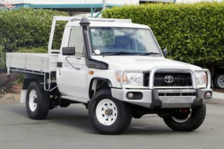 Discounted Used Toyota Landcruiser Workmate, Acacia Ridge, 2011 Toyota Landcruiser Workmate VDJ79R MY10 Cab Chassis