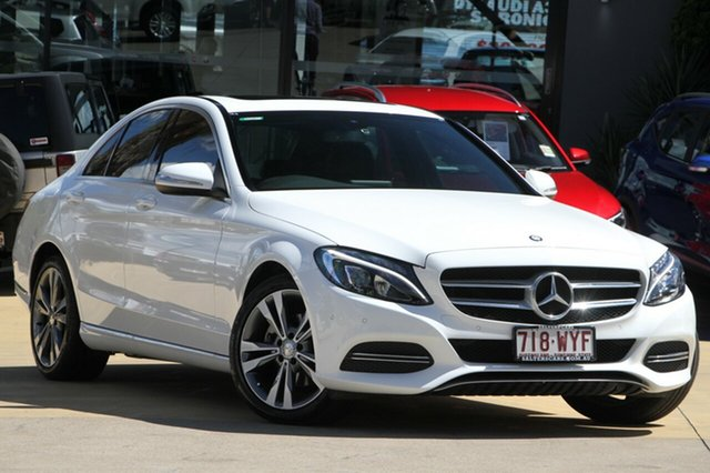 Used Mercedes-Benz C200 7G-Tronic +, Moorooka, Brisbane, 2015 Mercedes-Benz C200 7G-Tronic + Sedan