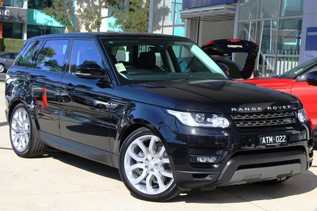 Demonstrator, Demo, Near New Land Rover Range Rover Sport SD4 CommandShift S, Port Melbourne, 2017 Land Rover Range Rover Sport SD4 CommandShift S Wagon