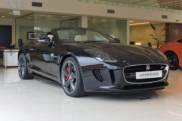 Demonstrator, Demo, Near New Jaguar F-TYPE R Quickshift RWD, Southport, 2016 Jaguar F-TYPE R Quickshift RWD Convertible