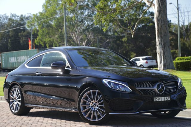Discounted Used Mercedes-Benz C300 9G-TRONIC, Warwick Farm, 2017 Mercedes-Benz C300 9G-TRONIC Coupe
