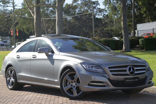 Discounted Used Mercedes-Benz CLS350 CDI BlueEFFICIENCY Coupe 7G-Tronic, Warwick Farm, 2013 Mercedes-Benz CLS350 CDI BlueEFFICIENCY Coupe 7G-Tronic Sedan