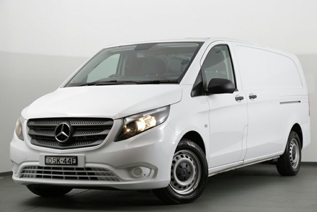 Discounted Demonstrator, Demo, Near New Mercedes-Benz Vito 116BlueTEC LWB 7G-Tronic +, Southport, 2016 Mercedes-Benz Vito 116BlueTEC LWB 7G-Tronic + Van