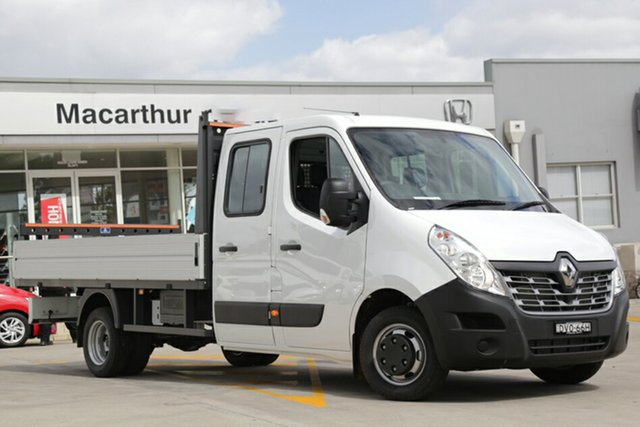 Discounted Demonstrator, Demo, Near New Renault Master Double Cab LWB RWD, Narellan, 2017 Renault Master Double Cab LWB RWD Cab Chassis