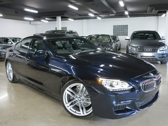 Used BMW 640i Gran Coupe Steptronic, Albion, 2013 BMW 640i Gran Coupe Steptronic Sedan