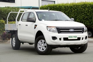 Used Ford Ranger XL Double Cab 4x2 Hi-Rider, Acacia Ridge, 2013 Ford Ranger XL Double Cab 4x2 Hi-Rider PX Cab Chassis