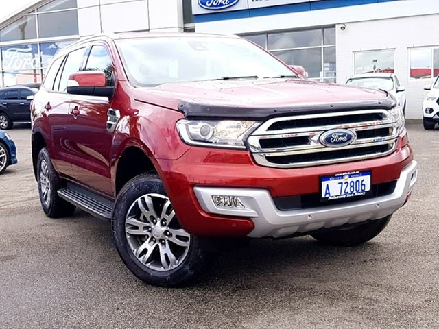 Used Ford Everest Trend 4WD, Morley, 2015 Ford Everest Trend 4WD Wagon