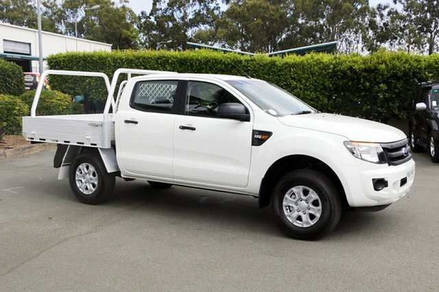 Discounted Used Ford Ranger XL Double Cab 4x2 Hi-Rider, Acacia Ridge, 2015 Ford Ranger XL Double Cab 4x2 Hi-Rider PX Cab Chassis