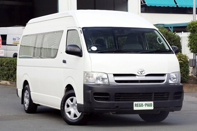 Used Toyota Hiace Commuter High Roof Super LWB, Acacia Ridge, 2006 Toyota Hiace Commuter High Roof Super LWB TRH223R Bus