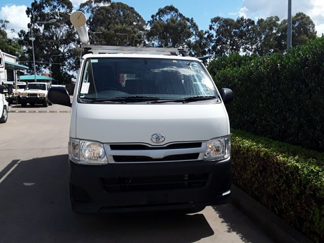 Used Toyota Hiace LWB, Acacia Ridge, 2012 Toyota Hiace LWB KDH201R MY12 Van
