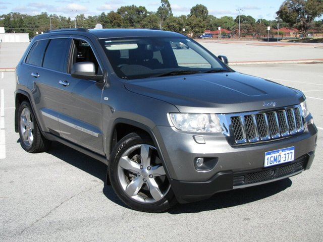 Used Jeep Grand Cherokee Overland, Maddington, 2012 Jeep Grand Cherokee Overland Wagon