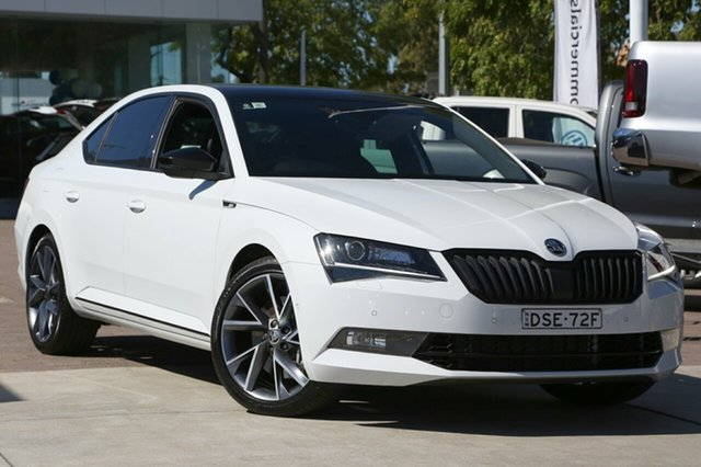 Used Skoda Superb 206TSI Sedan DSG SportLine, Waitara, 2017 Skoda Superb 206TSI Sedan DSG SportLine Liftback