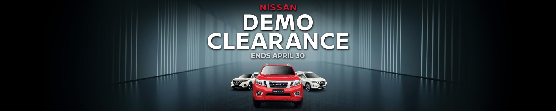 Nissan Demo Clearance