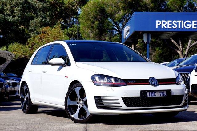 Used Volkswagen Golf GTI DSG, Balwyn, 2014 Volkswagen Golf GTI DSG Hatchback