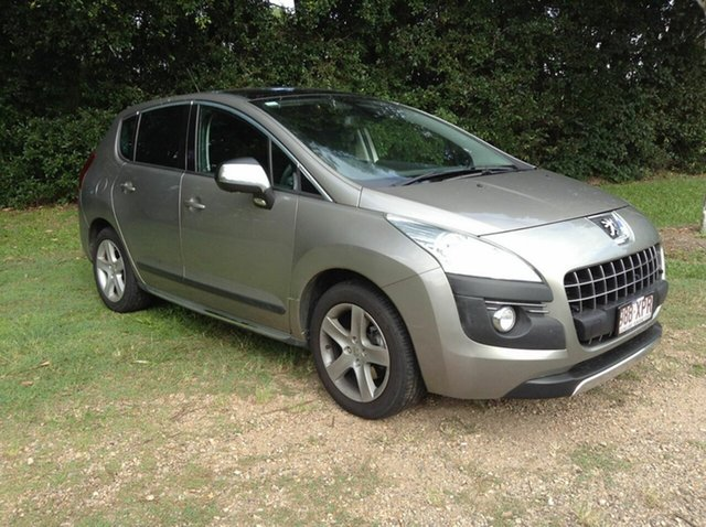 Used Peugeot 3008 XTE SUV HDi, Nambour, 2010 Peugeot 3008 XTE SUV HDi T8 Hatchback