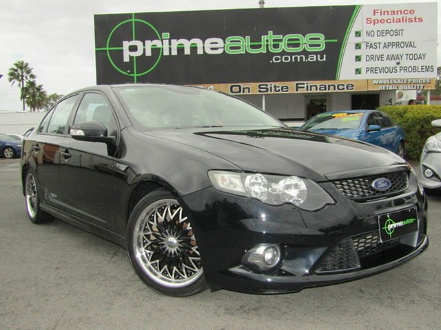 Used Ford Falcon XR6T 50th Anniversary, Loganholme, 2010 Ford Falcon XR6T 50th Anniversary Sedan