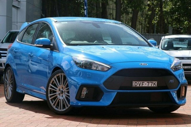 Demonstrator, Demo, Near New Ford Focus RS AWD, Warwick Farm, 2017 Ford Focus RS AWD Hatchback