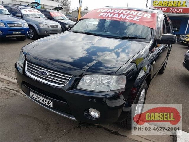 Used Ford Territory Ghia 7 seater, Campbelltown, 2007 Ford Territory Ghia 7 seater Wagon