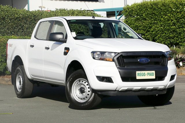 Used Ford Ranger XL Double Cab, Acacia Ridge, 2017 Ford Ranger XL Double Cab PX MkII Utility