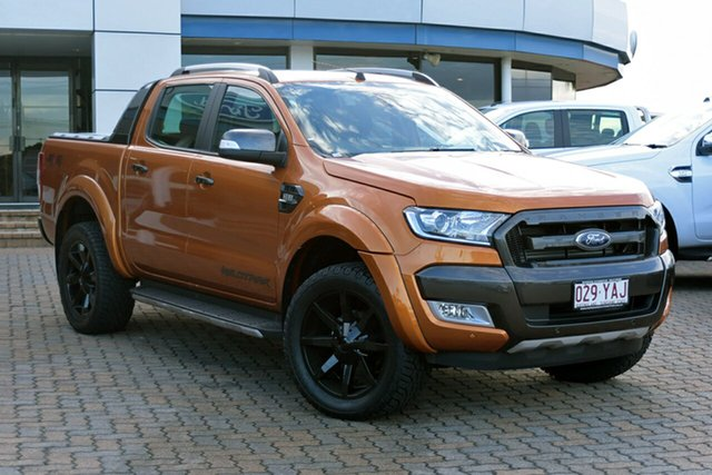 Discounted Demonstrator, Demo, Near New Ford Ranger Wildtrak Double Cab, Southport, 2017 Ford Ranger Wildtrak Double Cab Utility