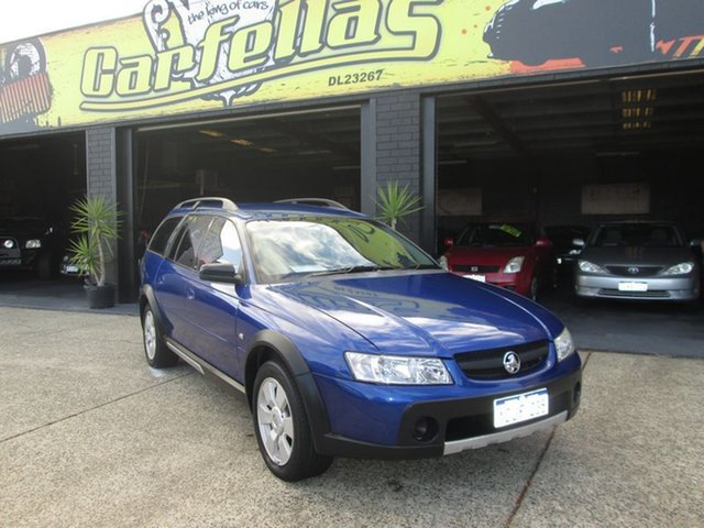 Used Holden Adventra SX6, O'Connor, 2006 Holden Adventra SX6 Wagon
