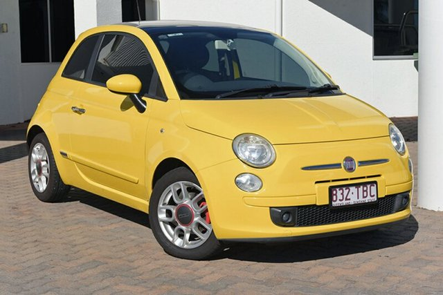Discounted Used Fiat 500 Sport, Southport, 2008 Fiat 500 Sport Hatchback