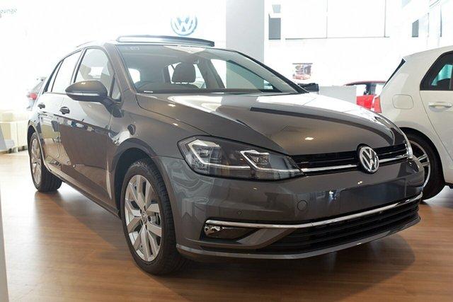 Demonstrator, Demo, Near New Volkswagen Golf 110TDI DSG Highline, Southport, 2017 Volkswagen Golf 110TDI DSG Highline Hatchback