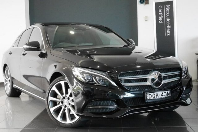 Demonstrator, Demo, Near New Mercedes-Benz C250 BlueTEC 7G-Tronic +, Mosman, 2014 Mercedes-Benz C250 BlueTEC 7G-Tronic + Sedan